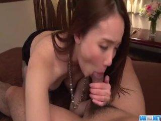 Hot scenes of pantyhose porn with Misuzu Tachibana