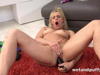 Dildo fucking with milf pornstar Brittany Bardot