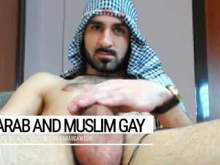 Arab gay indecent desert warrior. Iraqi soldier at day, gay fucker at night