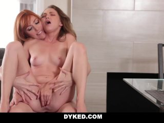 Dyked – Horny Stepmom seduces young Daughter