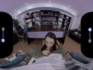 BaDoinkVR Lily Adams Wants Payment With Hard Dick VR Porn