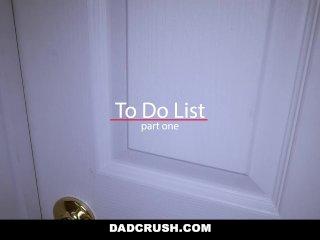 DadCrush – Hot Step-Daughter Sodomized
