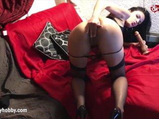 My Dirty Hobby – Hot MILF tease and masturbates