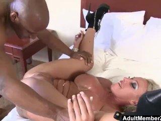AdultMemberZone – Big Titted Milf craves huge black cock