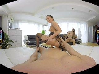 SexBabesVR – Paris Friend Part 1 with Clea Gaultier and Blue Angel