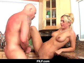 FILF – Kitchen Sex with My Aunt Kodi Gambly