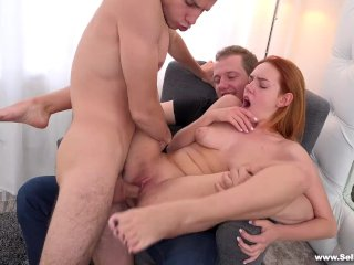 Sell Your GF – Fucked on her boyfriend's lap