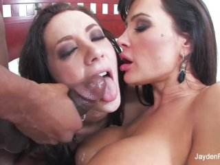 Jayden Jaymes With Lisa Ann And Prince Yahshua