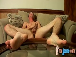 Ty Frost plays with his tasty pecker