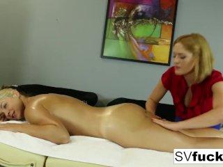 Sarah Vandella Lesbian Massage