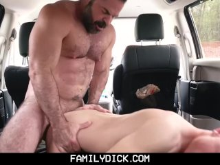 FamilyDick – Son is punished by angry dad through hardcore breeding