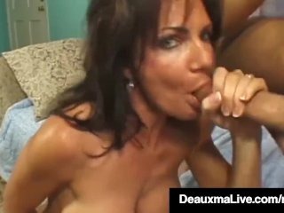 Brunette Milf Deauxma Gets Fucked By Guy With Squirt Finale!