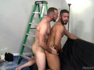 MenOver30 Trey Turner Eats Ass Good Before Fucking It