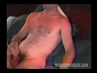 Homemade Video of Mature Amateur Steve Beating Off