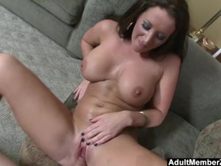 AdultMemberZone – Busty lady gets a big load on her melons