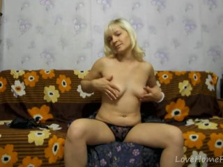 Hot blonde with big tits is the best