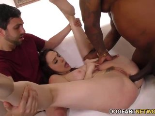 Chanel Preston Interracial Anal Gangbang – Cuckold Sessions