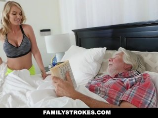 FamilyStrokes – Sexy Housewife Fucks Her Stepson