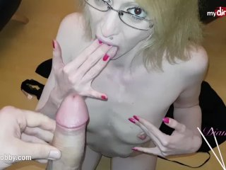 My Dirty Hobby – Skinny MILF has a quick fuck