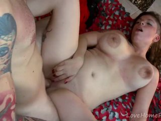 Eager Busty Babe Gets Drilled Hard & Deep