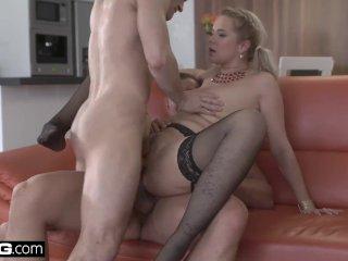 Glamkore – Euro Beauty Nikky Dream  DP Threesome Surprise