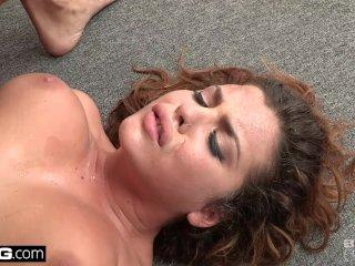 Keisha Grey Upside down anal pounding