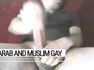 No tricks with Tarek's dick. Gay tourists enjoy this Arab gay Tunisian stud