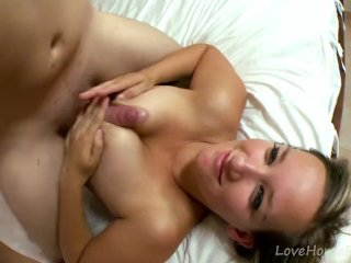 Busty Blonde Babe Is A Slave To Pleasure
