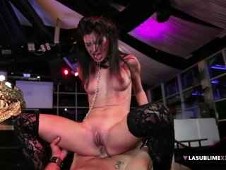 LaSublimeXXX – Valentina Canali squirt in intense anal sex