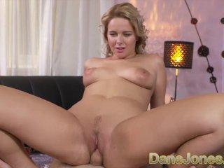 Dane Jones Thick blonde Czech with big tits sucks and fucks fat cock
