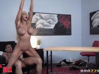 Brazzers Presents 1800 Phone Sex: Line 5, Nicolette Shea