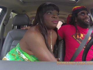 Ebony MILF goes ham on the dick