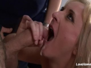 Hot make out session before passionate lovemaking act