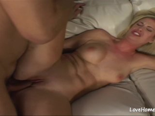 Horny dude is banging his beautiful busty chick