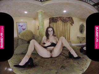BaBeVRcom Masturbation Video Call By Spex Babe April O'Neil