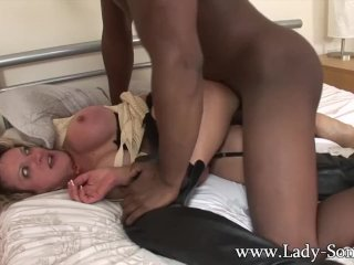 British MILF gets fucked by BBC while Cuck watches