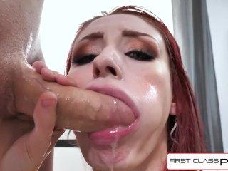 FirstClassPOV – Violet Monroe take a big dick in her throat, big booty