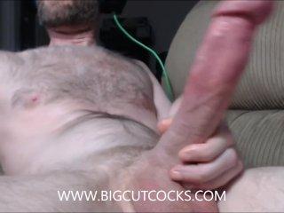 Monster Cut Cock Jerking Off