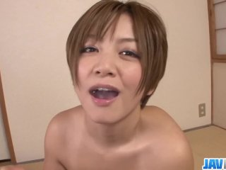 Sultry MILF Meguru Kosaka Swallows Cum In POV – More at javhd net