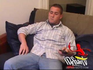 Amateur Straight Boy Lane Strokes His Hard Dick
