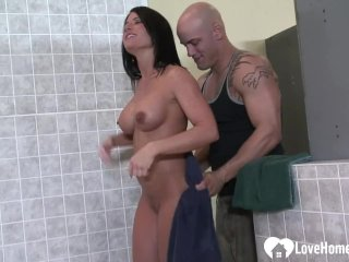 Busty babe gets fucked in hardcore fashion