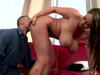 Busty Sex Goddess Eva Notty Gets Her Big Boobs Fucked And Creamed