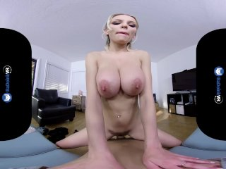 BaDoinkVRcom Busty MILF Kenzie Taylor Wants Her Favorite Dick