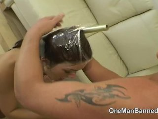 Renee Richards talks dirty with a big cock inside her