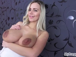 Sexy Striptease Leads to Hot Finger Fucking!