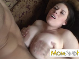 MILF mom Daphne Rosen has huge tits