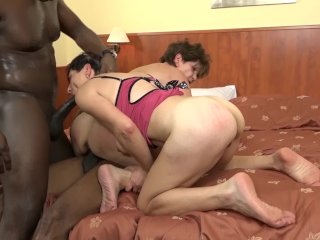 The Swinger Experience Presents Time for grannies to experiment interracial anal sex and double ass fuck