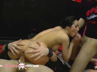Anal Queen Francys Belle in German Goo Girls