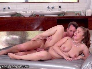 NuruMassage Big Tit Lena Paul Massaging Your Big Virgin Cock