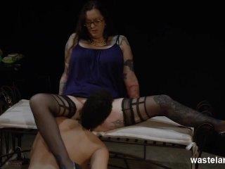 Black And White Lesdom BDSM Play
